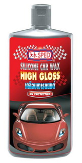 SPED HIGH GLOSS SILICONE CAR WAX